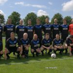 Team met oud spelers van NBSVV